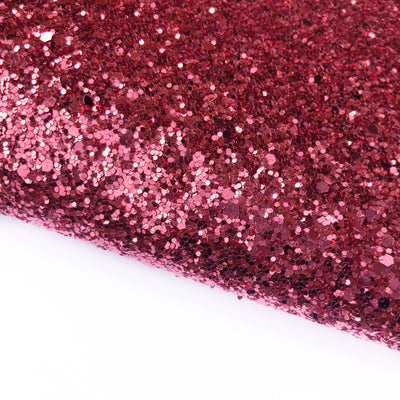 Cranberries Chunky Glitter Fabric