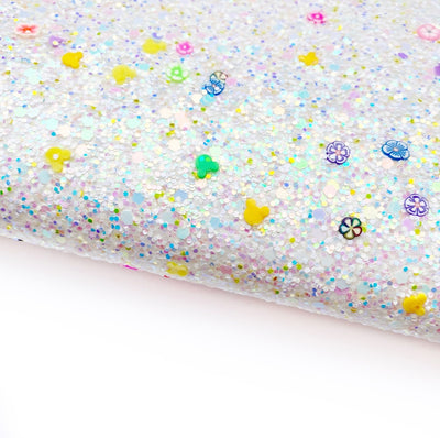 Mouse Glitter Surprise Chunky Glitter Fabric Sheets