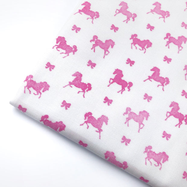 Horses and Bows Artisan Fabric Felt