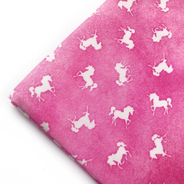 Pink Dancing Unicorns Artisan Fabric Felt