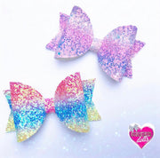 Beach Life Chunky rainbow Glitter Fabric