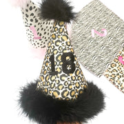 EHC Exclusive Number Glitter Party Hats