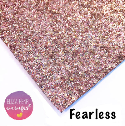 Fearless Chunky Glitter Fabric