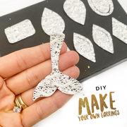 Exclusive Merbabes- Mermaid Mix Earring Die Cutter