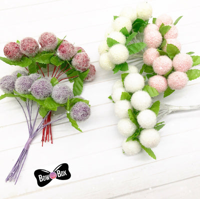 Foam Ball Artificial Floral Embellishments