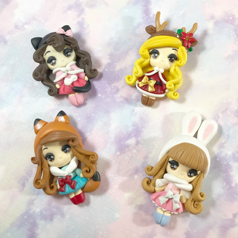 EXCLUSIVE Animal Babes Clay Charms