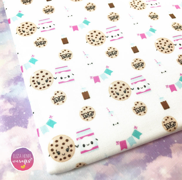 EXCLUSIVE Milk n Cookies Cute Fabric Felt