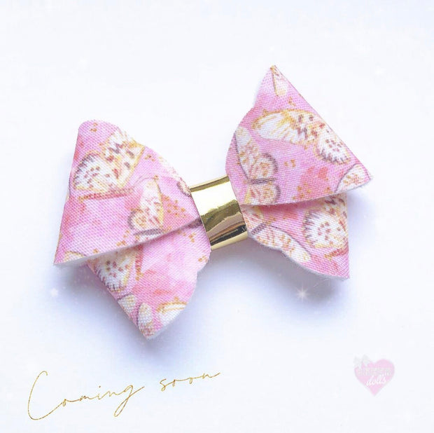 The Flutter Fancy Hair Bow- 3 Sizes on 1 die cutter/ Template