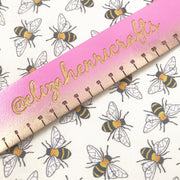 Time to Bee yourself Artisan Fabric Felt