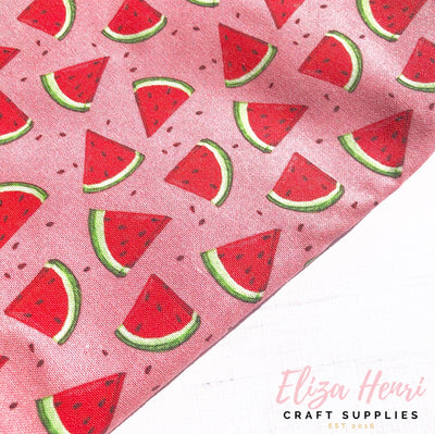 Bright Watermelon Fabric Felt