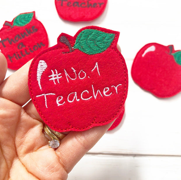 Make your own Teacher Gift Felties