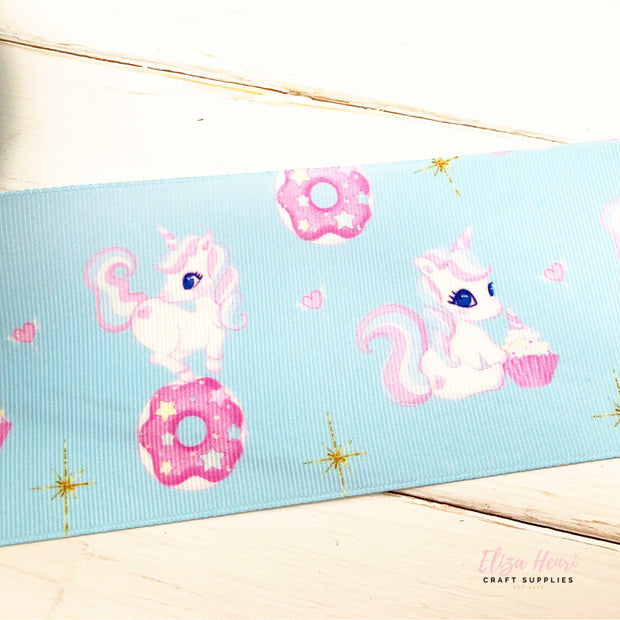 Unicorn Treats Grosgrain Ribbon 2'' or 3''