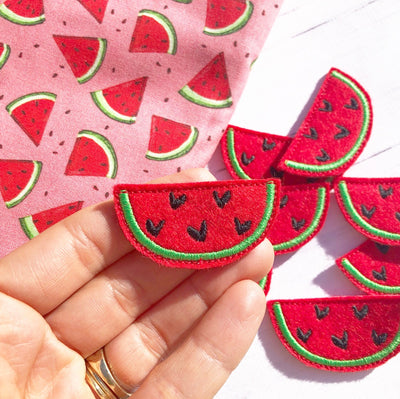 Watermelon Slice Felties