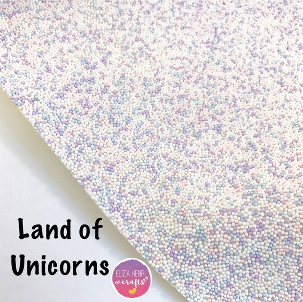 Land of Unicorns Hundreds and Thousands Fabric - Eliza Henri Craft Supply