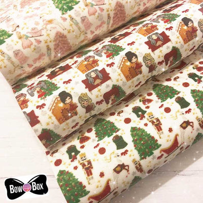 Traditional Christmas Artisan Fabric Felt Collection