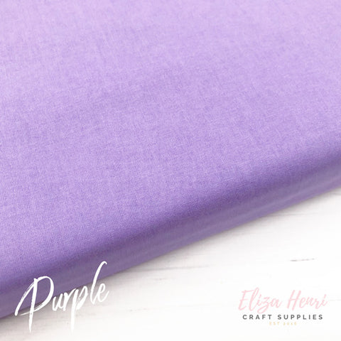 purple 100% cotton fabric
