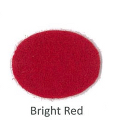 Bright Red Merino Wool Blend Felt