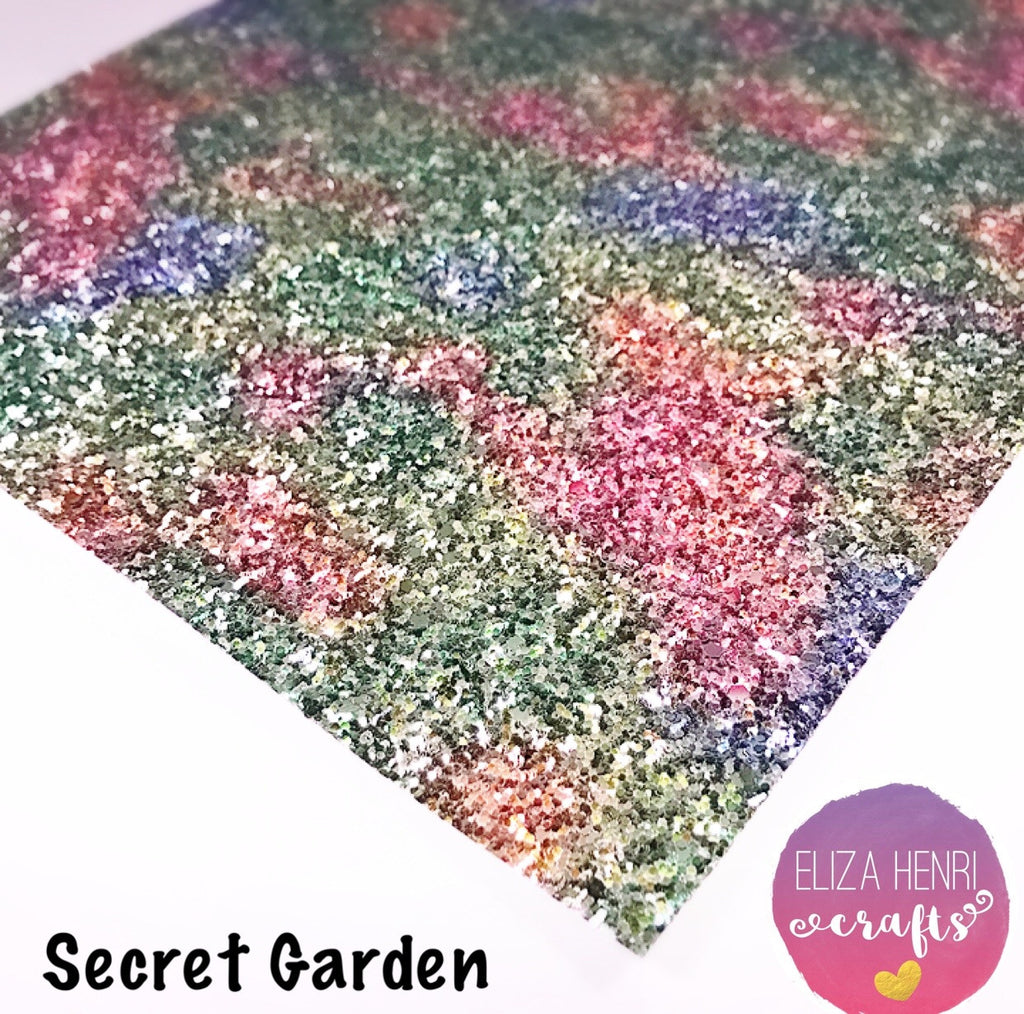 Secret Garden Chunky Glitter Fabric