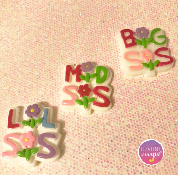 Sister Charm Embellishments