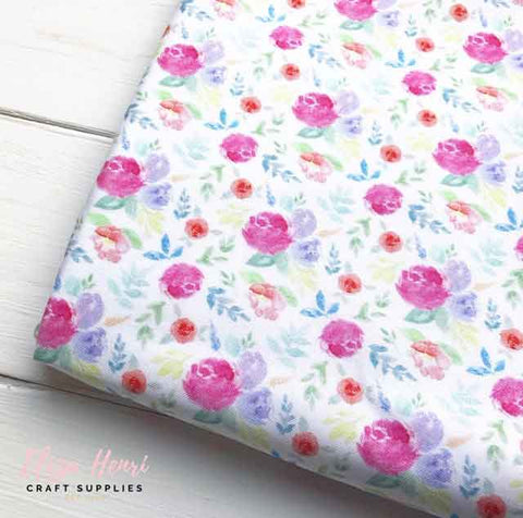 Spring Flowers Artisan Fabric Felts
