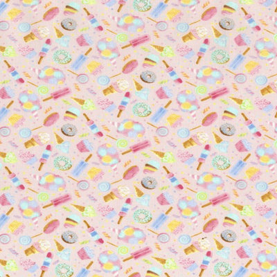 Sweet Treats Designer 100% Cotton Fabric