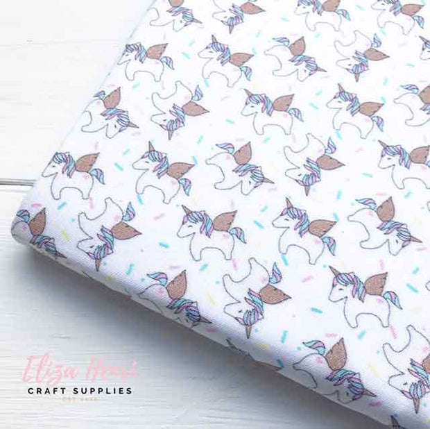Unicorn Sprinkles Artisan Fabric Felt