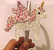 Beautiful Unicorn Horse Hair Die Compatible with Big Shot