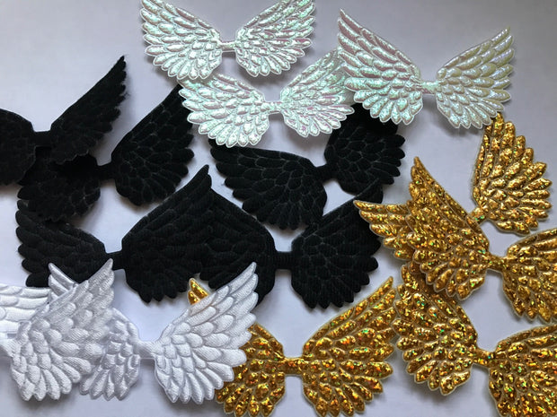 Beautiful Angel Wing Embellishments - Eliza Henri Craft Supply
