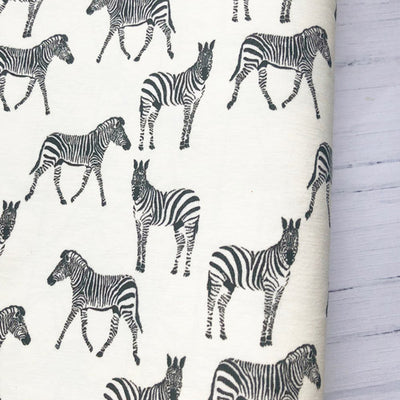 Zebra Colour Change Fabric Felt