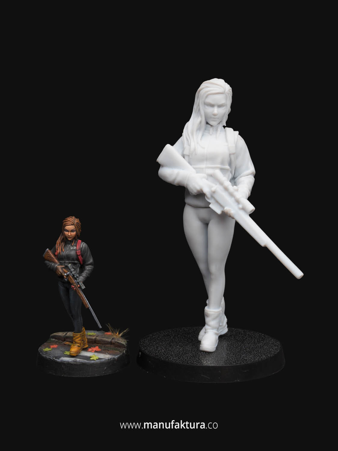 Sedition 02a For Warhammer 40k Female Space Marine 28mm Resin Miniature