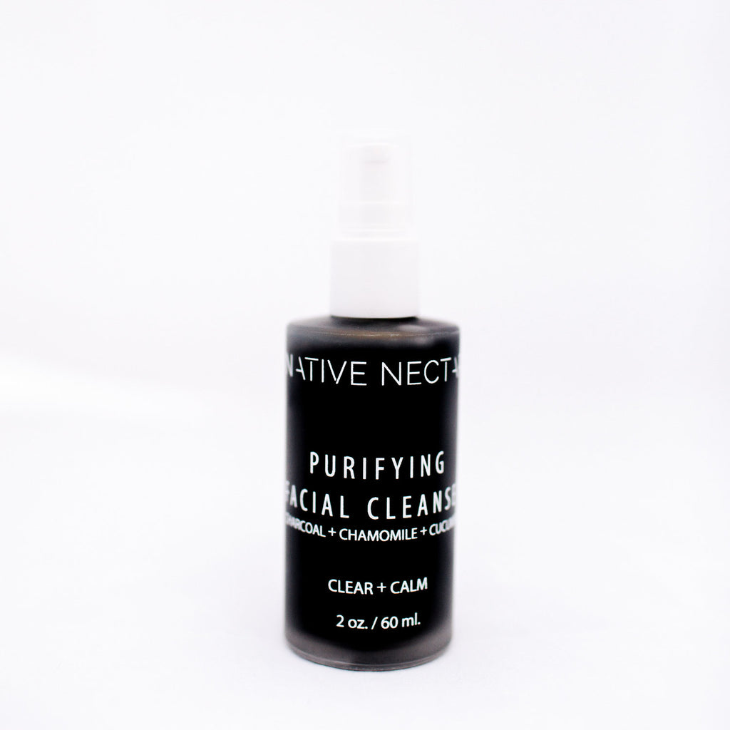 Native Nectar Botanicals Purifying Charcoal Cleanser