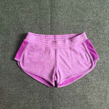 leisure shorts Elastic waist