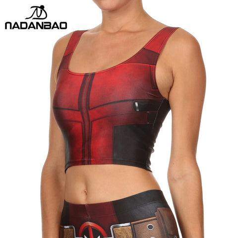 Women Camis Deadpool Print