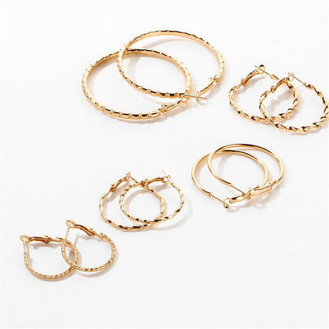 Hip hop oversized hoops earrings