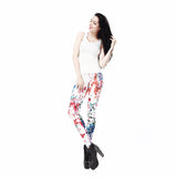 Geometric Boho Art Printed leggings