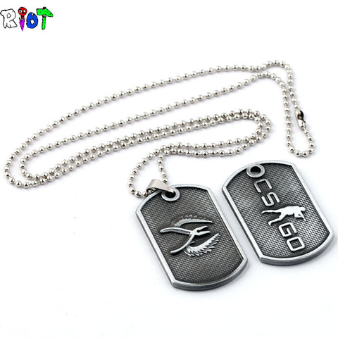 CS-GO New Style Necklace and Keychain