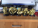 Golden Dota 2 Wraith King Figure