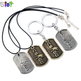 CS-GO Necklace and Keychain Gold and SIlver