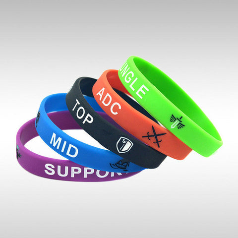 League of Legend Wristband Silicon Bracelet