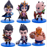 LOL 6Pcs/Set Cute Action Figures