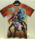 LOL Full Art T-Shirt Men