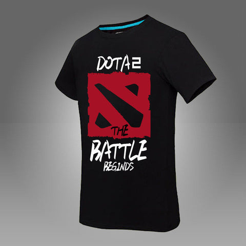 Dota 2 T-shirt The Battle Begins