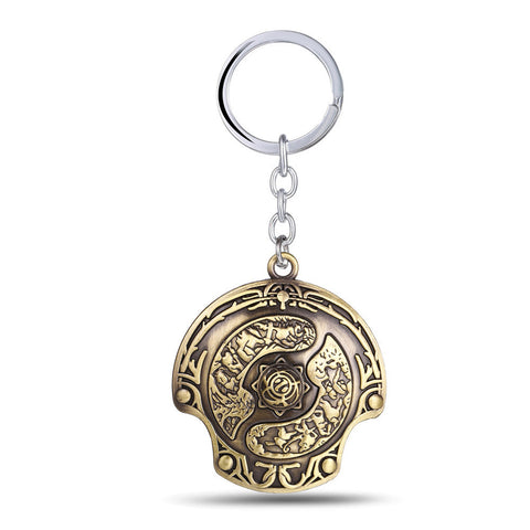 Dota 2  Hook Immortal Champion Shield Key Chains
