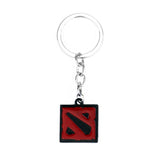 Dota 2 Fashion Key Chain Pendant Black