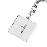 Dota 2 Fashion Key Chain Pendant Silver