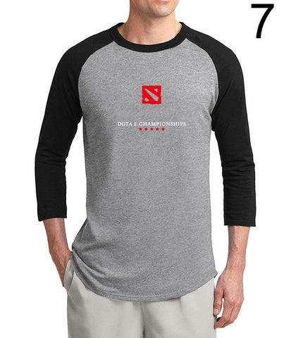 Dota 2 T-shirt 2017 Summer Three Quarter Sleeve