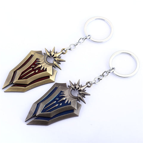 LOL The Radiant Dawn Leona Alloy Model Keychain