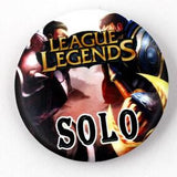 LOL Player Role Badge