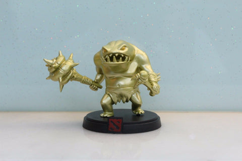 Golden Dota 2 Tidehunter  Figure