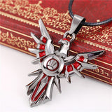 LOL Leona Shield  Charm Pendant Necklace